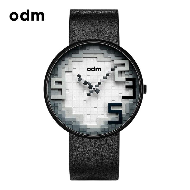 Odm Men's Fashion Waterproof Watch Female Quartz Watch Personality Casual Creative Concept Wristwatch-DD166 цена и фото