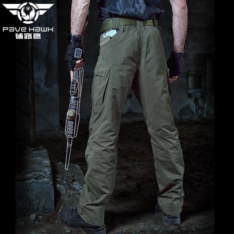 Calças de Caça Militar Homens Tactical Carga Calças
