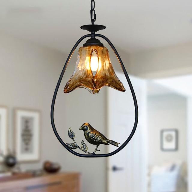 Vogel Pendelleuchten Moderne Innen Esszimmer Küche Lampe Gold ...