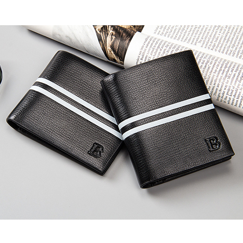 Baellerry Brand Men Wallets Fashion Male Purse Short Wallets With Card Holder Slim Male Wallets Pocket carteira masculina MWS028