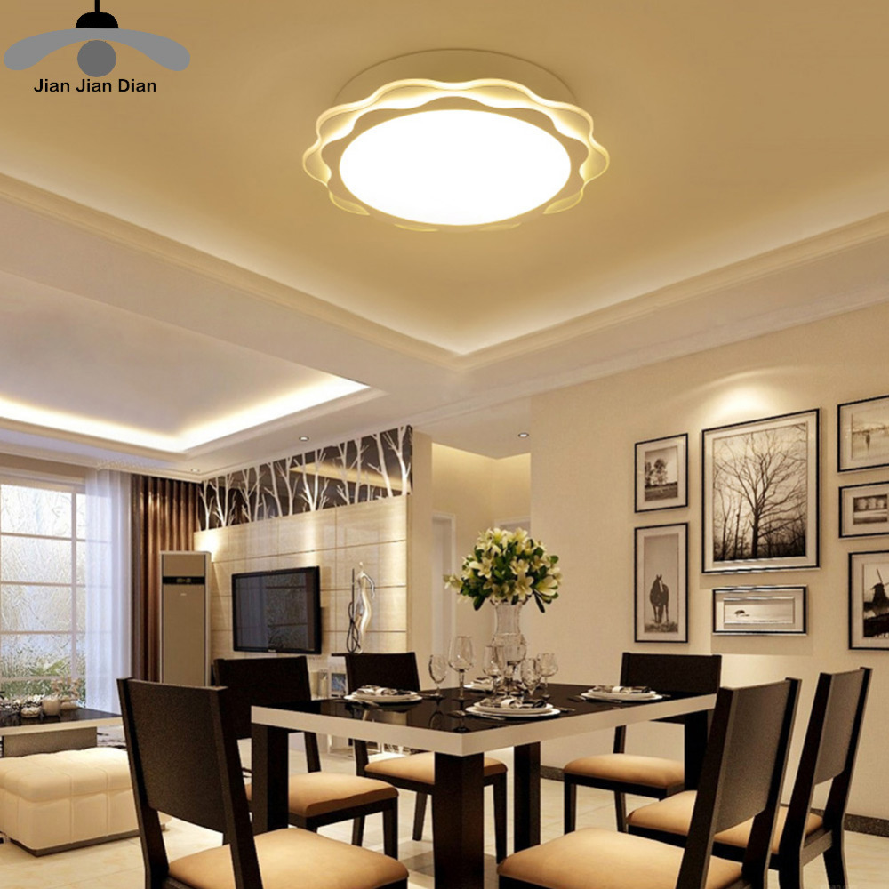 JJD Creative Modern Led Bedroom Ceiling Lights Sunflower shape for home living room bedroom Childrens room Ceiling Lamps