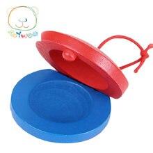 Детские развивающие игрушки детские круглые деревянные кастрюли