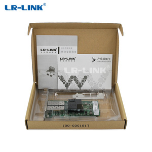 Image 5 - LR LINK 9702HF 2SFP Dual Cổng Thẻ Sợi Quang LAN Card PCI Thể Hiện X1 Mạng Intel 82580 PC NIC