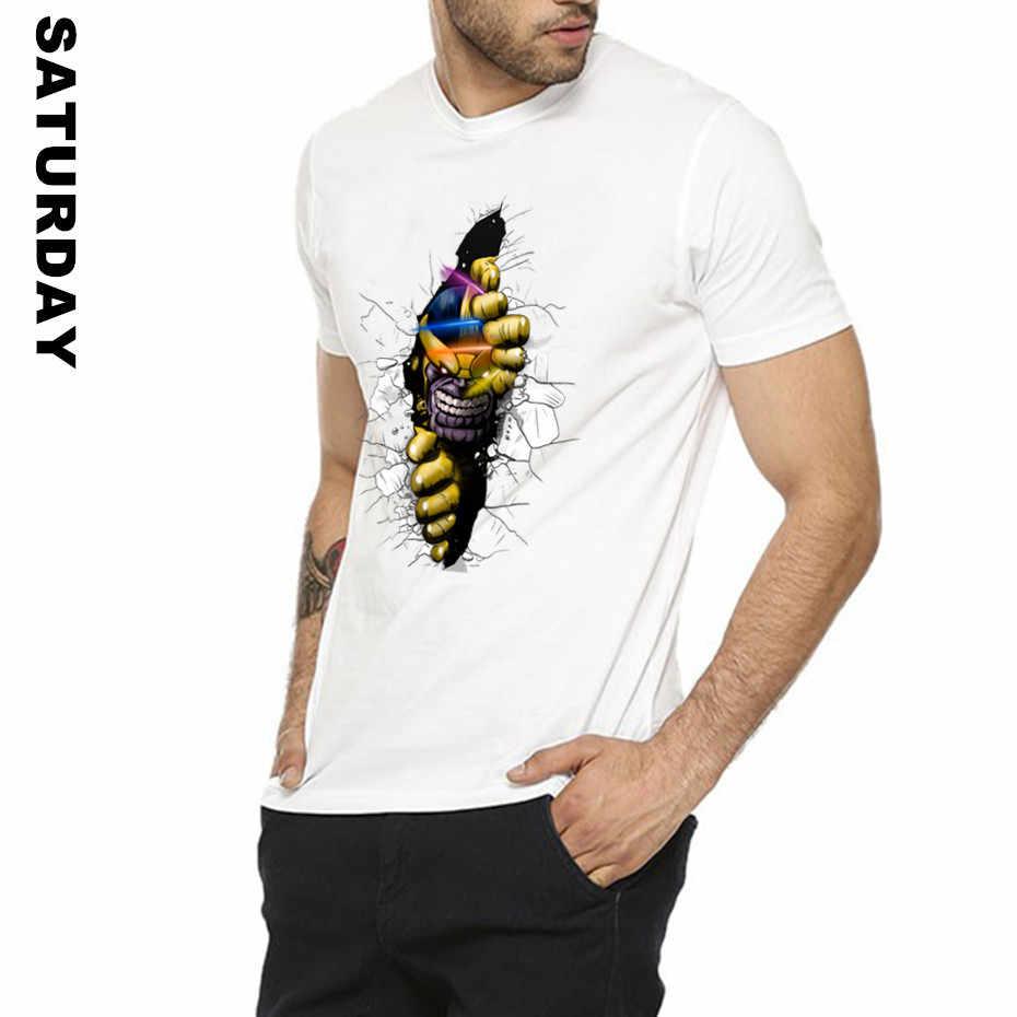 f52a6da70 ... Movie Superhero Thanos 3D Design T Shirt for Men and Women,Unisex  Comfortable Breathable Graphic ...