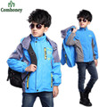 Boys Jacket Spring Autumn Teenager Boys Windbreaker Kids Sport Clothes Camping Hiking Softshell Jackets Children Outdoor Outwear