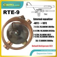 RTE-9 TEV große flache membran ermöglicht präzise ventil control kühlmittel fluss rate  ersetzen Sporlan Thermostat Expansion Ventile