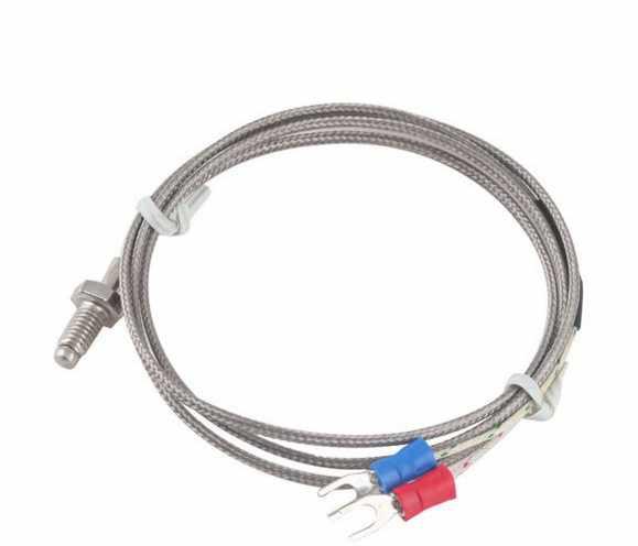 CG WRNT 02 M8 Screw K Type E J 1Meter 2M 3M 5M Wire Cable