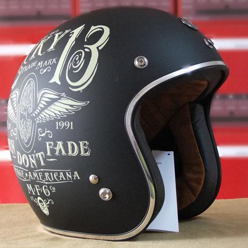 Bobber Chopper Helm Vintage