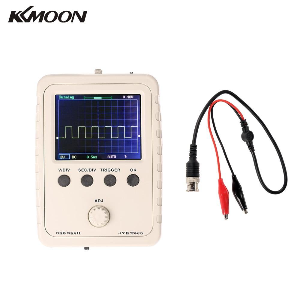 Digital Oscilloscope DIY Kit Parts with Case Learning Set 1MSa/s 0-200KHz 2.4 TFT Handheld Pocket-size
