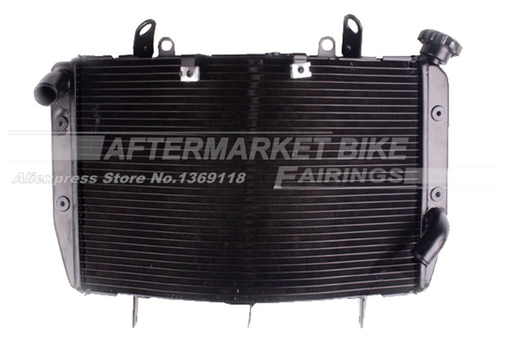 Motorcycle Radiator for YAMAHA YZF R6 2006 2007 Aluminum Water Cooling Replacemen