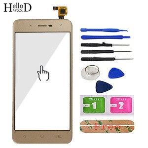 Image 2 - Toque De Vidro Do Telefone móvel Para BQ BQ 5057 5 Greve 2 BQ 5057 Digitador de Vidro Do Painel Frontal Da Tela de Toque Do Sensor ferramentas Adesivo