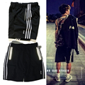 2017 3M Reflective PALACE Skateboards 100% Cotton Jogger Shorts Sweatpants Men Women Summer Style Loose Casual Trousers Shorts