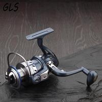 Sales promotion Rotate the spool 5.5:1 13BB Ball Bearings Fishing Spinning Reel Left/Right 1000-7000 Fishing wheel