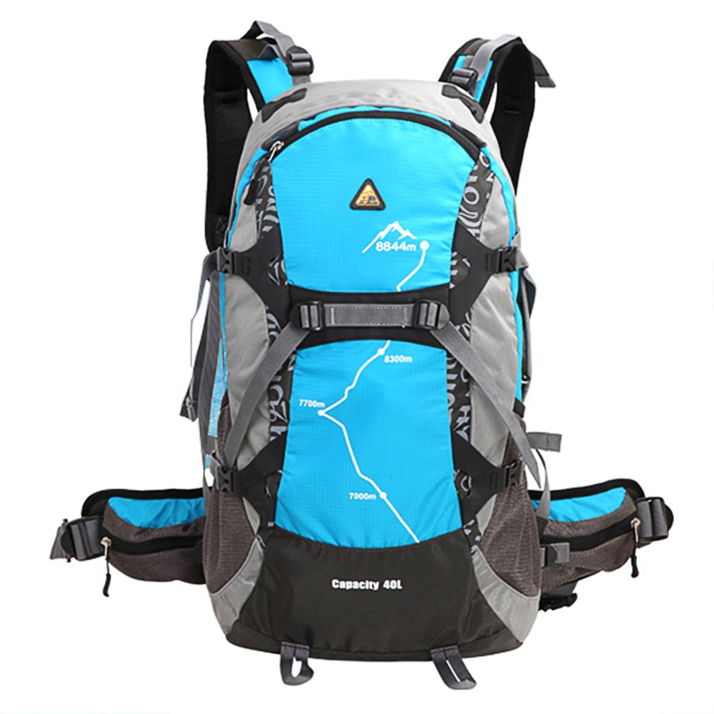 Kimlee 35l Для мужчин Для женщин спортивная сумка-рюкзак с дождевик 3D Водонепроницаемый Отдых Альпинизм дорожная Пеший Туризм рюкзак 5 цветов