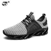 2018 hot sale spring summer fashion trend men sneakers size 39-44 comfortable breathable lace-up gray black casual male shoes df