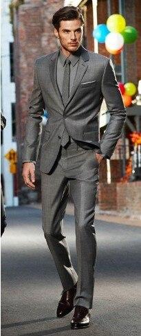 f44e4dc1d5c New Arrival Custom Made Dark Gray Classic Groom Tuxedos Best Man Suit  Wedding Fashion No Risk Shopping Fall-Winter
