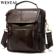 WESTAL Bag Messenger-Bag Crossbody-Bags Male Handbags Men's for 8870