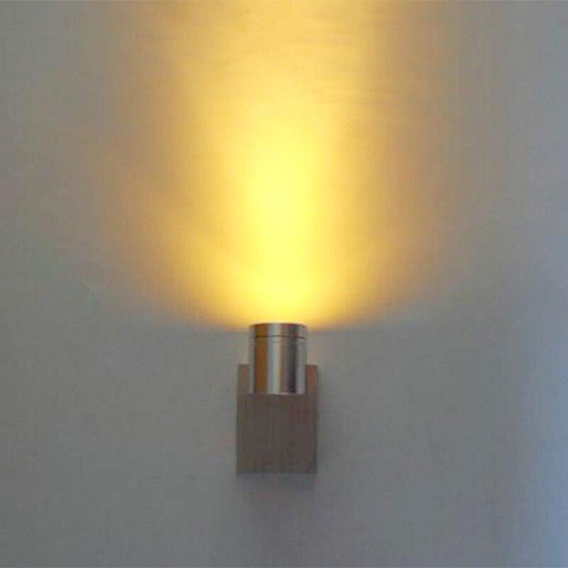 1 W 85-265 V LED applique moderne mur lampe, Mur intérieur-FixtureProch Lumière En Aluminium lumière, applicable pour KTV livraison gratuite