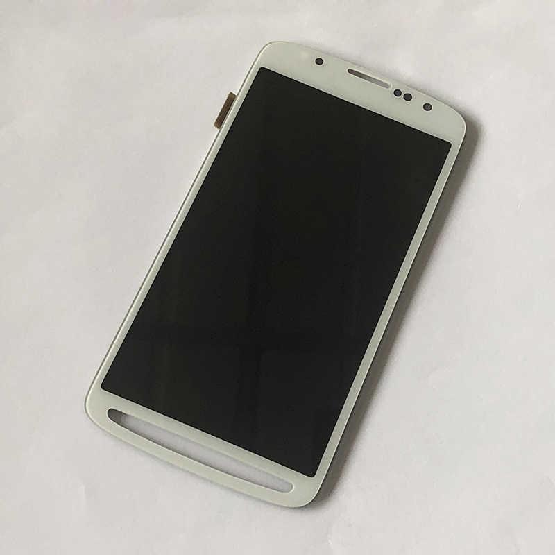 لسامسونج غالاكسي S4 نشط LCD اللمس i9295 LCD شاشة i537 شاشة الكريستال السائل لوحة شاشة محول الأرقام بشاشة تعمل بلمس الاستشعار الجمعية