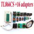 TL866CS programador + 16 adaptadores de Alta velocidade TL866 AVR PIC Bios 51 MCU Eprom Programador PLCC SOP DIP SSOP Inglês manual