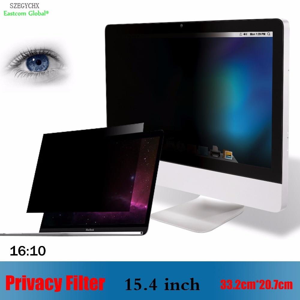 Warnen 15,4 Zoll Privacy Filter Anti-glare Screen Schutzfolie Szegychx Für Notebook 16:10 Laptop 33,2 Cm 20,7 Cm