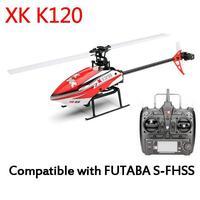 RCtown XK K120 ткацких 6CH бесщеточный 3D 6G Системы Радиоуправляемый вертолет RTF/БНФ