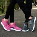 2016 Новые Люди и Пара обуви Повседневная Обувь Мода Дышащая Обувь на шнуровке Плоские Туфли НЕТ ЛОГОТИПА