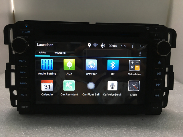 ROM 16G Quad Core 1024*600 Android 6.0 FOR GMC Yukon Tahoe 2007 2008 2009 2010 2011 2012 Car DVD Player Navigation GPS Radiol