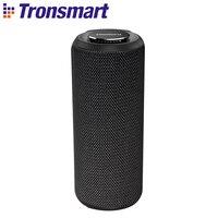 Tronsmart T6 Plus Bluetooth Speaker Portable Speaker Columns 40W Subwoofer IPX6 Waterproof Soundbar with Voice Assistant, TWS