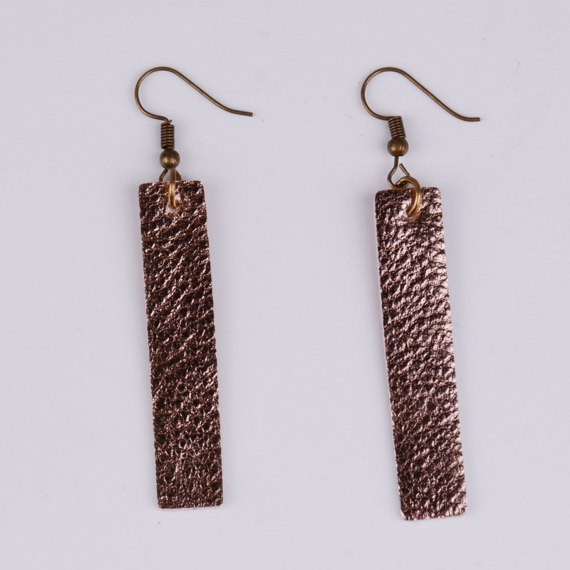 94d52f0c5 Rainbery New Arrival Bar Leather Earrings Antique Looking Various  MultiColors Long Pendants Leather Bohemia Dangle Drop Earrings
