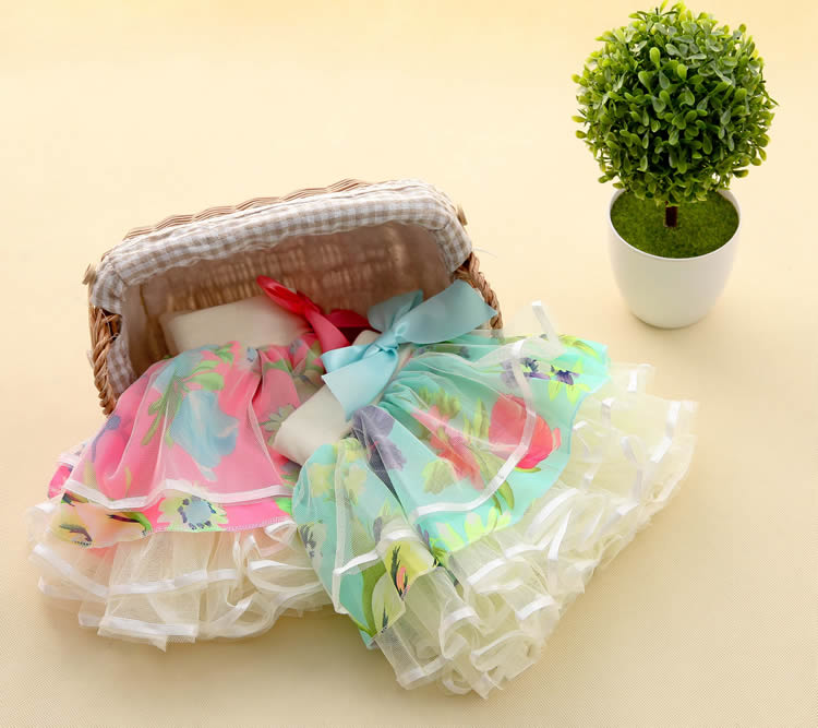 New Baby Girls Ruffle Bloomers TuTu Skirt Ball Gown Rose Red Fuffy Pettiskirt Baby Tulle Layered Children Clothing Set Outfit (15)