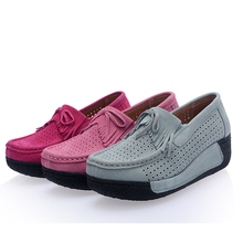 Spring Autumn Shaky Shoe font b Women s b font Shoes The Thickness Of The Bottom