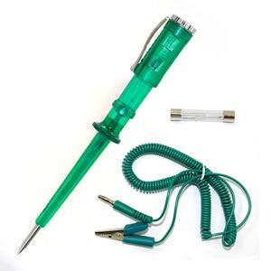 Image 5 - Фонарь для измерения напряжения автомобиля, медный детектор освещения, 6 в, 12 В, 24 В постоянного тока