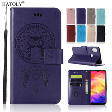 For Xiaomi Redmi Note 7 Case Redmi 7A 8A CC9 A3 F1 Case Leather Flip Wallet Phone Case Redmi Note 7 Back Cover for Redmi Note 7