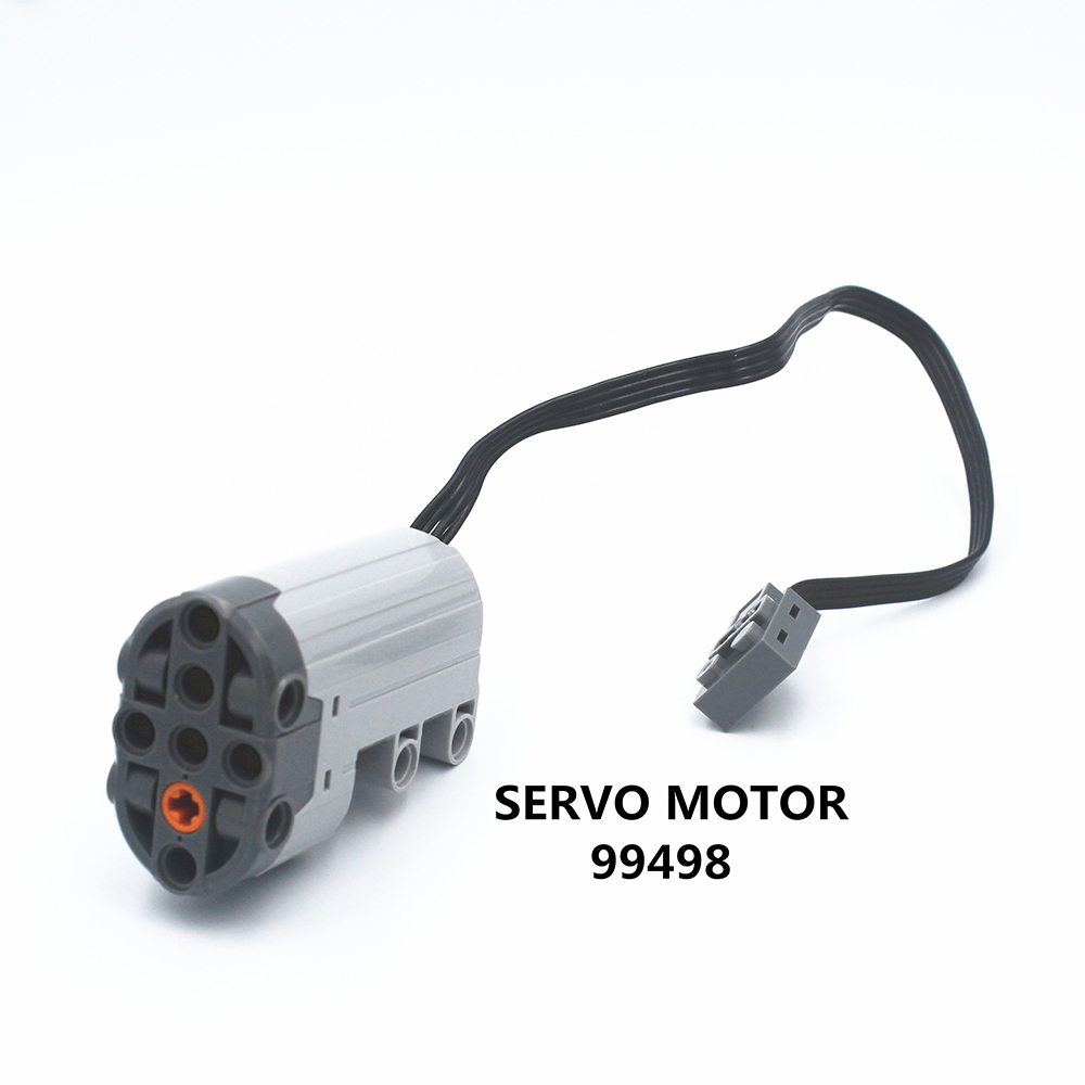 MOC Technic Parts 1pcs Power Functions SERVO MOTOR Compatible With Lego For Boys Toy (99498)
