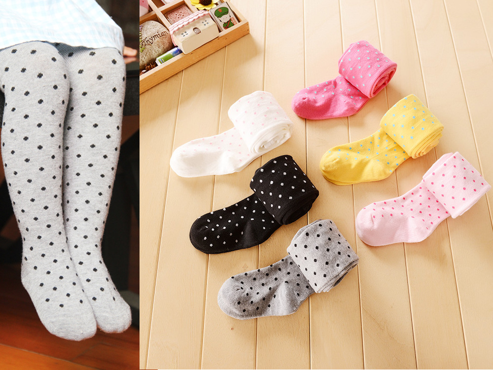 dot baby tights girl kids stocking kids Cotton toddler girls tights pants underpants pantyhose children s