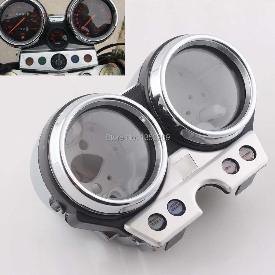 Motorcycle Gauge Case Speedometer Tachometer Shell Cover Fits For Honda CB400 SF 1992 1993 1994 New