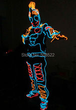 LED Costumes The EL wires luminescent costumes , support design order
