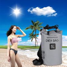 Sports Outdoor Folding Backpack Beach PVC Waterproof Bag Cycling Mountaineering Bag A5214