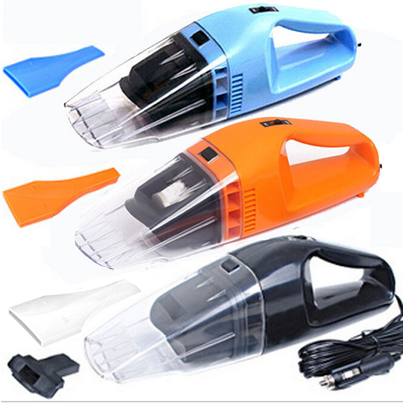 Portable Wet /Dry Amphibious 100w 12v Handheld Car Vacuum Cleaner Cyclonic Hand Vacuum Automotive Dust Buster  NR-shipping