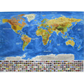 82.5 x 59.5 cm Travel Scratch Map Gold Foil Travel Map Travel World Scratch Off Foil Layer Coating World Map School Office TW666