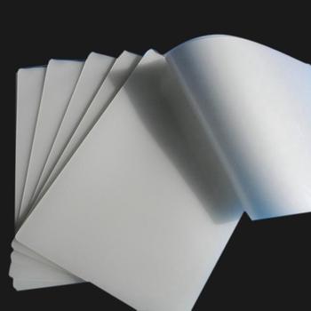 50 sztuk partia 50 mic A4 folia do laminowania termicznego PET do zdjęć plików karty laminowania obrazu tanie i dobre opinie YOAINGO CN (pochodzenie) Pokrowiec laminatora