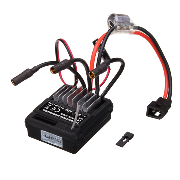 HBX part 12216 Brushless <font><b>25A</b></font> <font><b>ESC</b></font> Receiver 2-In-1 Unit for 1/12 RC Model Buggy Car Off-Road Crawler Truck image