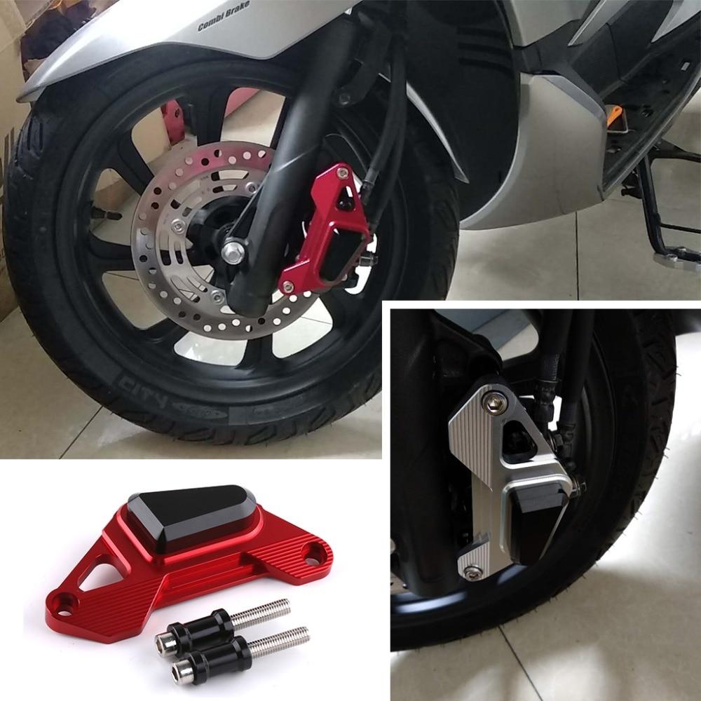 SMOK moto CNC en aluminium avant disque étrier Brakecaliper frein garde protection couvercle pour Honda PCX 125 150 PCX125 PCX150