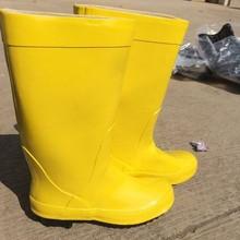 Низкая цена химически стойкие сапоги желтый анти химических сапоги