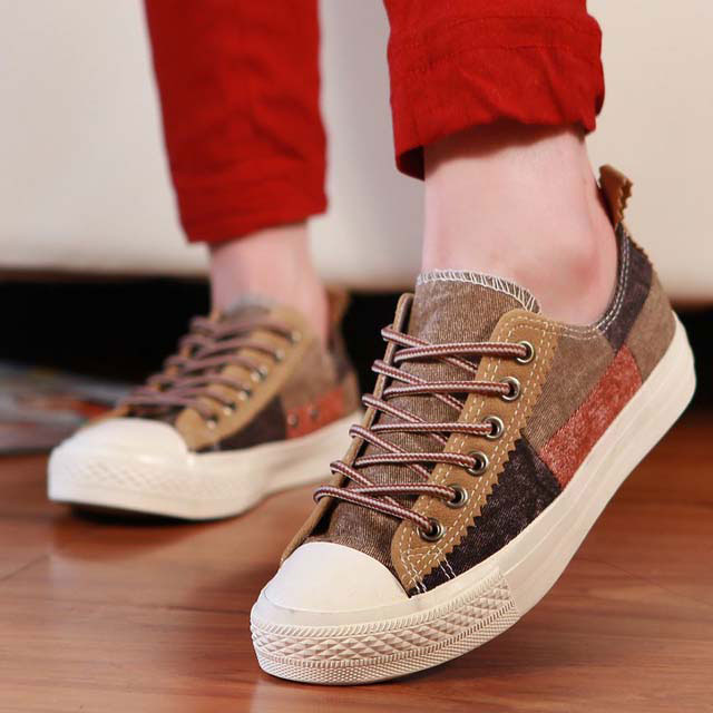 New fashion For Women cheap online Canvas Shoes flat walking espadrilles  superstar style Good Seller jeans stitching-in Men s Casual Shoes from Shoes  on ... 0acaf87c7