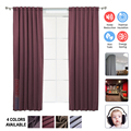 Arrowzoom 1 piece Panel 99.9% Blackout Thermal Insulation Soundproofing Window Curtain