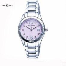 Новое Прибытие luxury Brand женские часы бизнес Кварцевые Наручные Часы Красочные Горный Хрусталь Из Нержавеющей Стали Водонепроницаемый женский часы