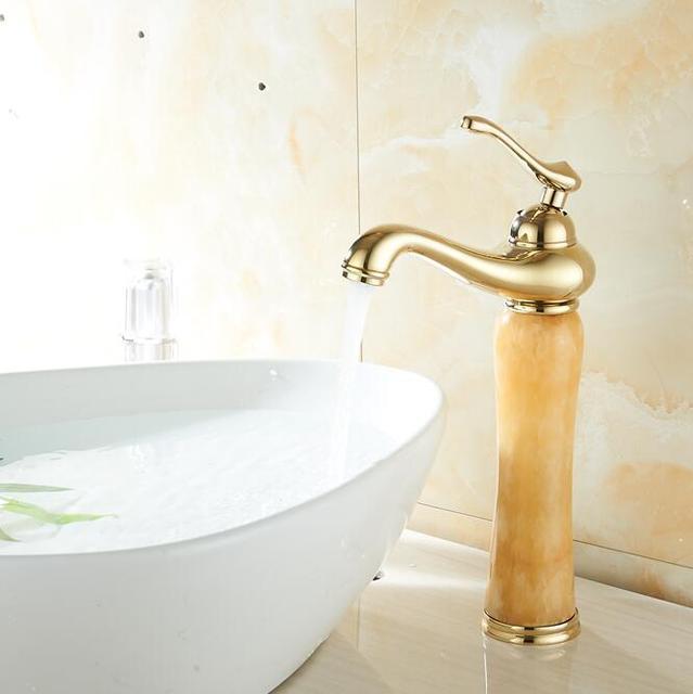 Wonderful Luxus Neue Natur Marmor Dekoration Badezimmer Toilette Basin Schiff  Untergehen Mischbatterie Badarmaturen Sanitär H7308K