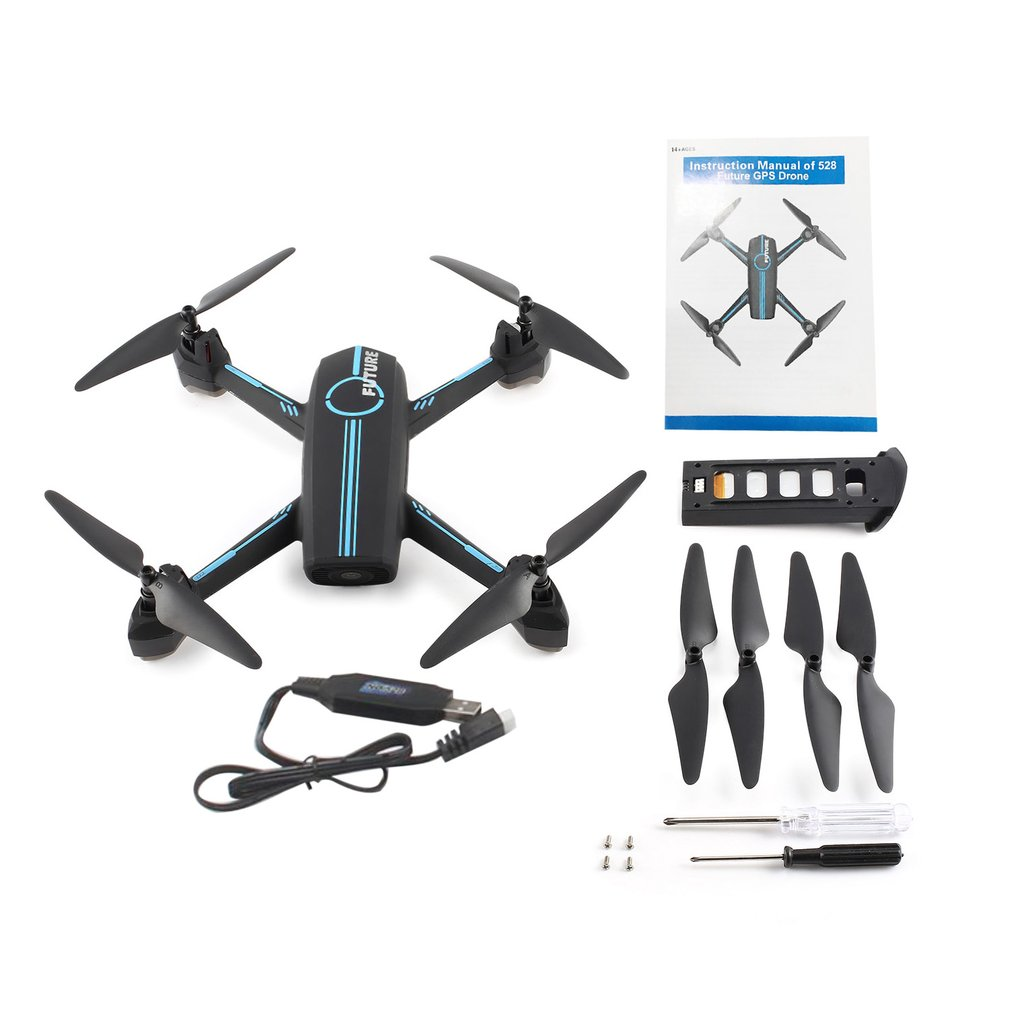 JINXINGDA RC FPV Drone Quadcopter with 720P HD Wifi Camera 528 GPS Quadcopter Positioning Real-Time Waypoint Flight Follow me Квадрокоптер